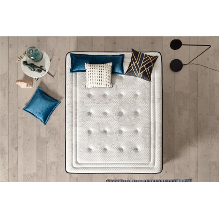 The assembly and finishing of each Exclusive mattress are always carried out in accordance with the rules for manufacturing high-end bedding.