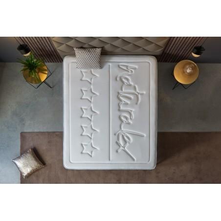 Rellenos que permiten una perfecta ventilación del colchón y una excelente termorregulación.