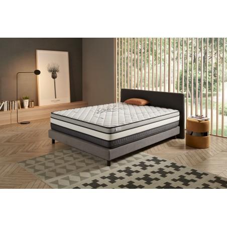 Su compleja composición está estudiada para favorecer la relajación de las contracciones y tensiones musculares durante el sueño.
