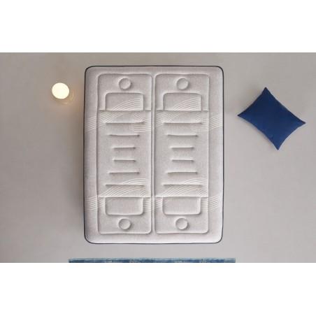 Remplissages qui assurent une ventilation parfaite du matelas et une excellente thermorégulation.
