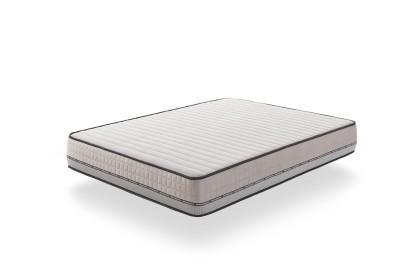 Equipado con el sistema Blue-Latex®, Visco Carbone está disponible en cuatro comodidades, equilibradas a muy firmes.