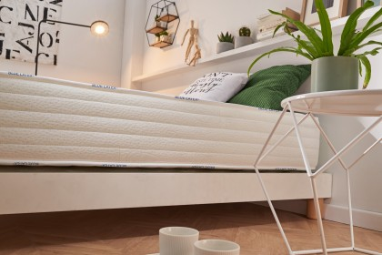 AeraPur HQ polyurethane core gives it superior support to conventional mattresses.
