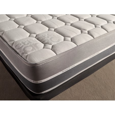 Enriched with the generating foam AeraPur in Polyurethane HQ offers extraordinary adaptability to your body to improve the quality of your sleep.