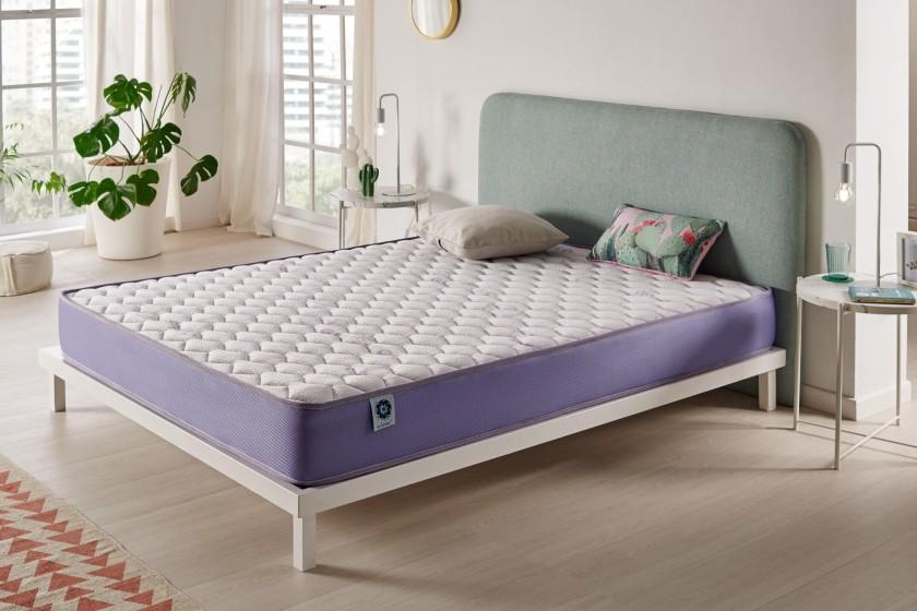 El modelo Geltech Naturalex ® es un colchón muy cómodo con propiedades termorreguladoras, no más sensaciones de calor.