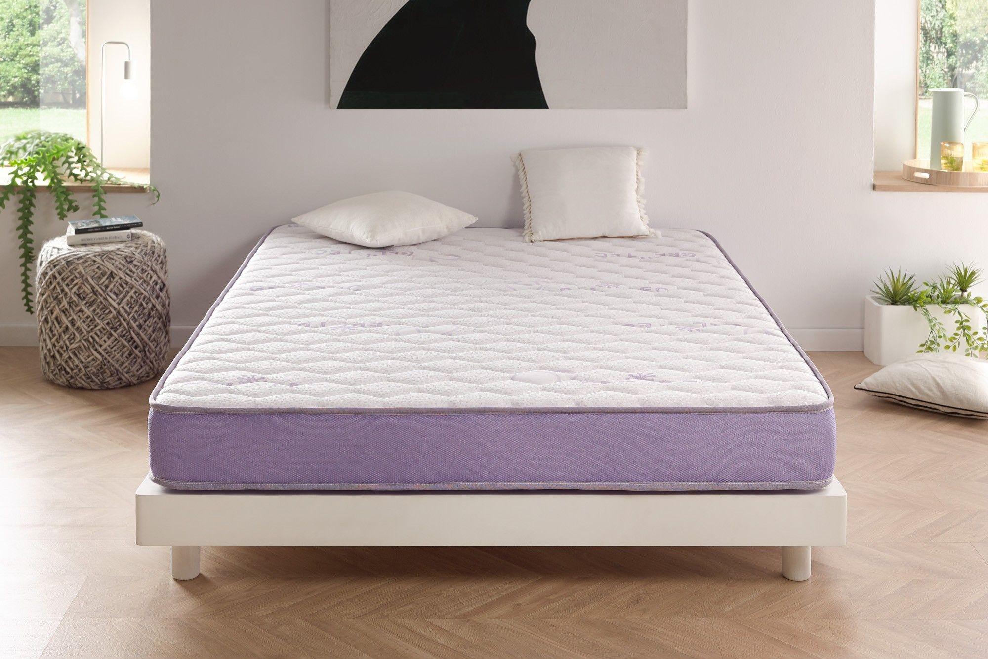 Système Blue-Latex®. Disponible en quatre conforts, équilibré jusqu'à très ferme.