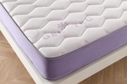 Armado con la Sensation Double Stretch Deluxe extra suave, el colchón logra una calidad superior de acabado y resistencia.