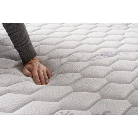 Equipped with the FibraFeel V300, the mattress offers optimal perspiration regulation thanks to its moisture absorption capacity.