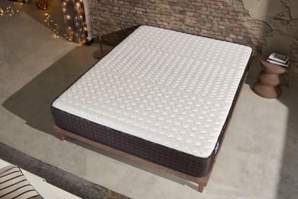 Tissu épais Softsensation double stretch Deluxe extra doux aux propriétés athermiques qui permet une sensation de fraîcheur pendant les nuits les plus chaudes.