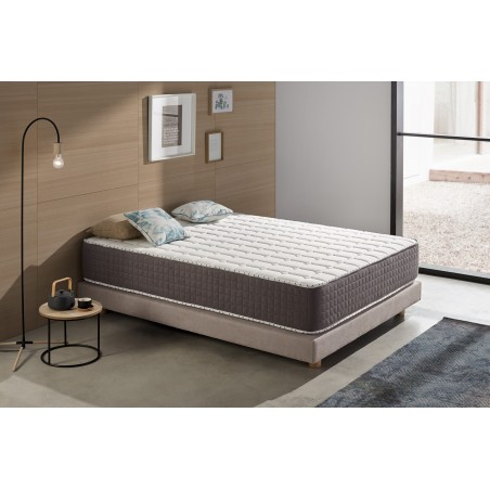 No more feelings of heat on the mattress, you will sleep as well in summer as in winter.