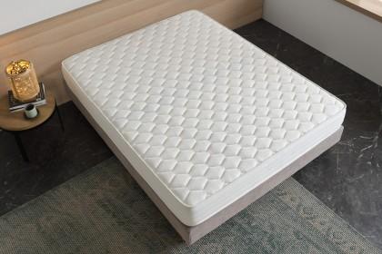 Con un grosor de 17 cm, su estructura multicapa con 7 zonas de confort aporta la firmeza y el apoyo necesarios.