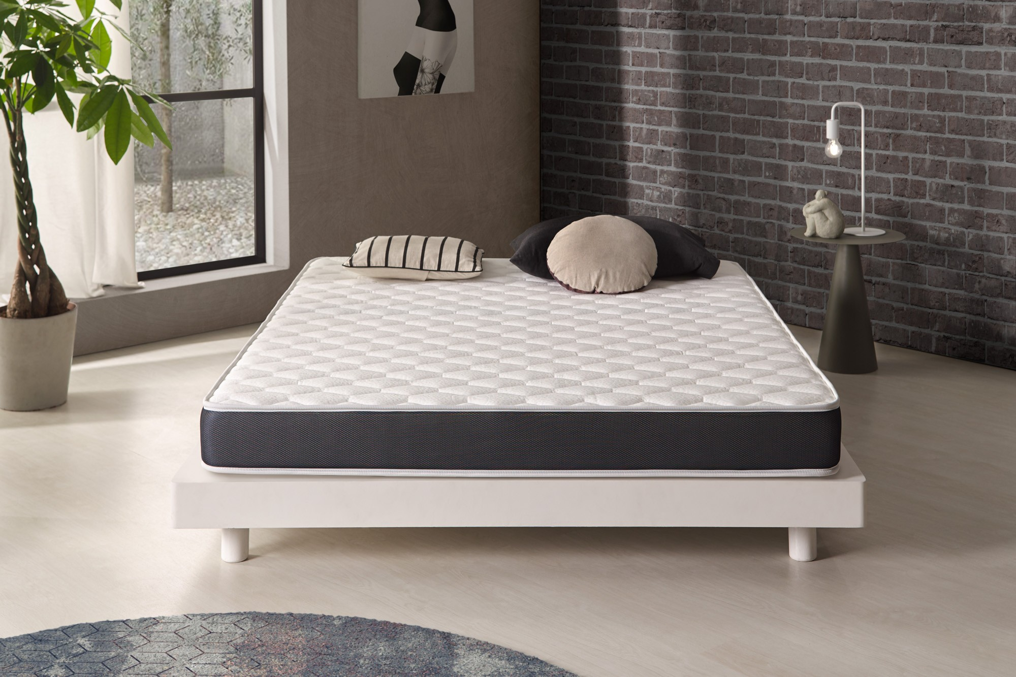 The Ergo latex model has been developed as a quality, comfortable and durable mattress.