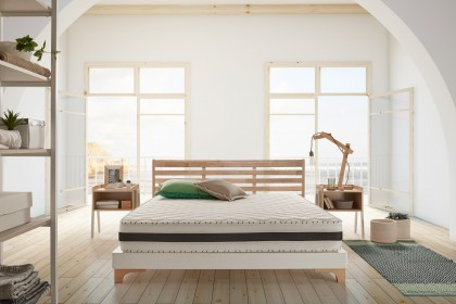 The addition of Memofeel V30 foam present on both sides, makes this high comfort mattress a reversible mattress at will.