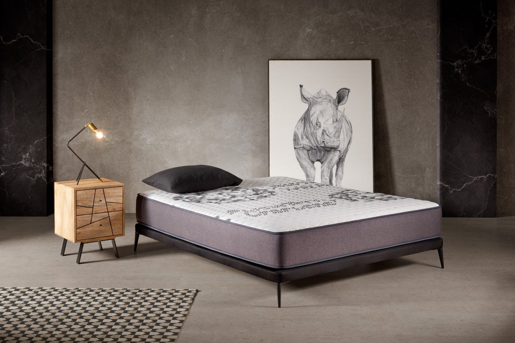 The PHISIOTEC mattress will be your anti-stress remedy.