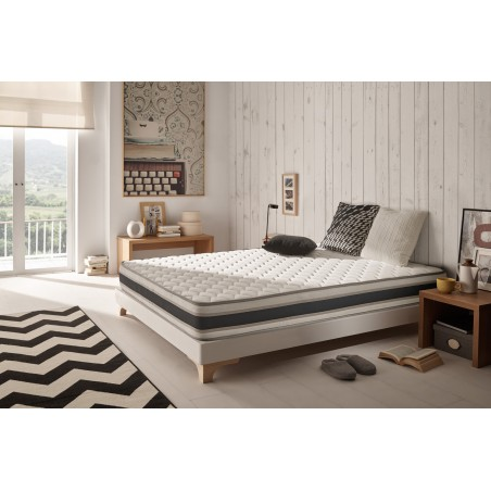 It will release all the muscular and nervous tensions accumulated for a totally restful sleep.