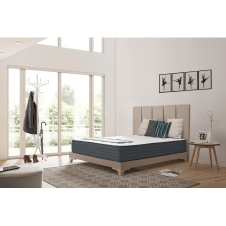 Bio Memory releases body parts that put more pressure on the mattress like the shoulders and hips and provides adequate rest for areas that exert less pressure like the feet and head.