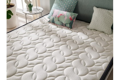Equipped with the Air Fresh system which allows perfect air circulation between the fabrics and prevents any concentration of humidity in the mattress.