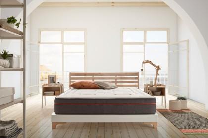 Para ofrecer a sus usuarios un confort óptimo, hemos optado por este colchón de lujo, una estructura multicapa cada una cumpliendo una función específica.