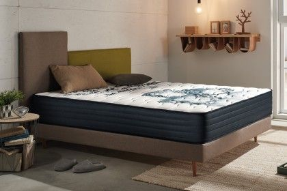 The composition of the Memogel model is an assembly of three different technologies: No more sensations of heat on the mattress, you will sleep as well in summer as in winter!