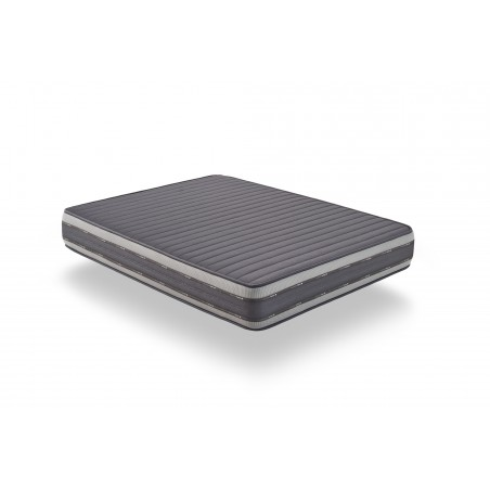 Visco Fresh technology on the summer side: thermoregulatory memory foam ensures you wake up tonic.