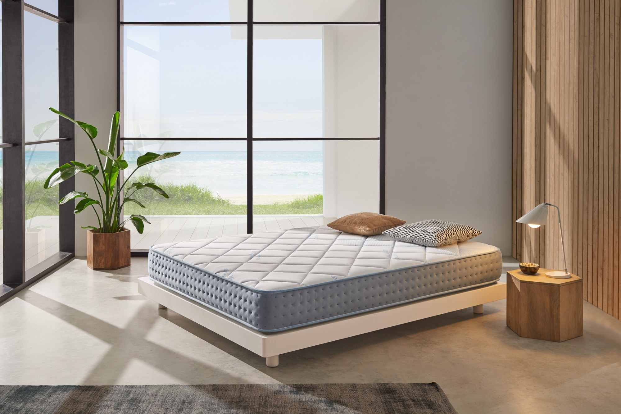 The combination of the different materials that make up Gel Care undoubtedly makes this mattress the most breathable in the Cosmos® Bedding range.
