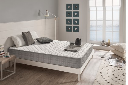 The Détente memory foam mattress is athermal, it transmits neither heat nor cold thanks to an open pore system of Viscotex foam for better breathing.
