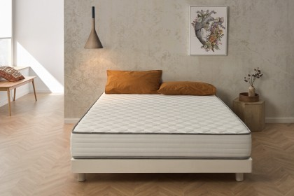 In addition to the benefits offered by memory foam, Blue Latex® technology will accentuate sleeping independence, to find serene nights and quality sleep!