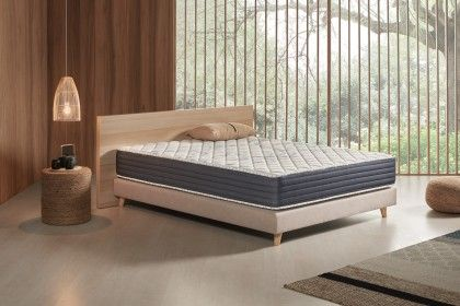 The Atlas mattress has high density memory foam on both summer and winter sides.