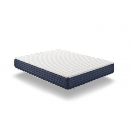 In the summer side it is provided with Visco Fresh memory foam it is thermoregulatory, it ensures a tonic awakening. The material of which it is made is more breathable than conventional foams.