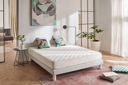 Whatever your build, your way of sleeping, whether you are alone or two in your bed, the Ergo mattress guarantees you unprecedented comfort and restful nights.