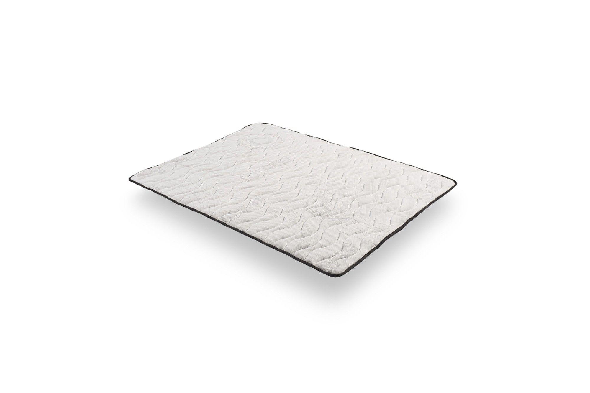 TOPPER CARBON Materasso con tecnologia Bi-Density® in Carbon Actif Latex e Blue Latex® Biancheria da letto Cosmos®