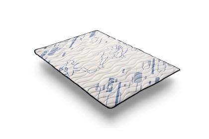 Equipado con una capa de la nueva espuma con memoria Memofresh V60, que está diseñada para mantener la temperatura corporal estable cuando está en contacto con el sobrecolchón.