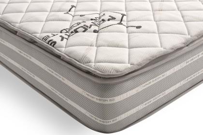 Gracias al sistema AirFresh en la cara de verano de tejido 3D aireado para una óptima circulación del aire entre el topper y el colchón: el aire de su ropa de cama se renovará continuamente.