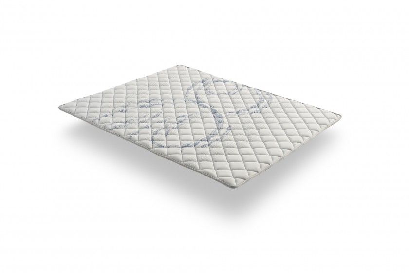 The winter side is equipped with Visco Active memory foam, a sensitive memory foam that provides an enveloping welcome and a feeling of weightlessness.